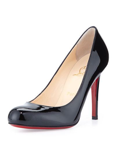 308dc1e1a99f Christian Louboutin Black Leather Pump
