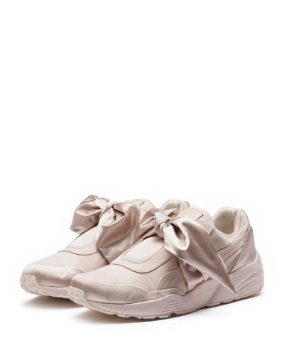 Trinomic Bandana Satin Sneaker, Pink