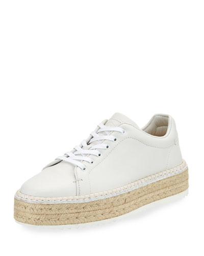Kent Espadrille Sneaker, White