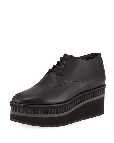 Limmy Platform Leather Oxford
