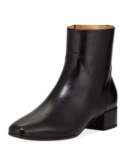 Calf Leather Ankle Boot