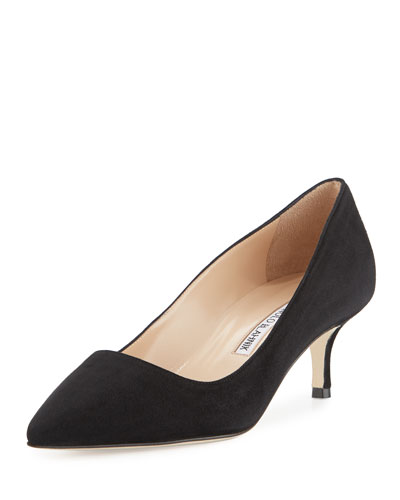 BB Suede 50mm Pump