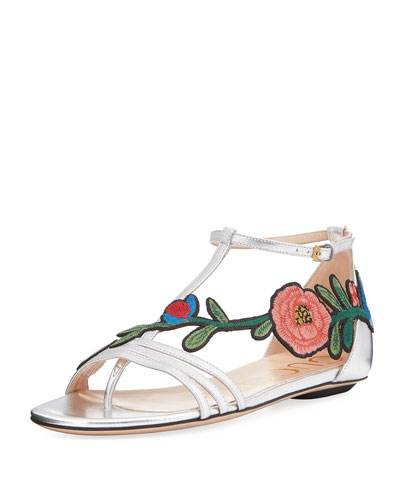 Ophelia Floral Thong Sandal