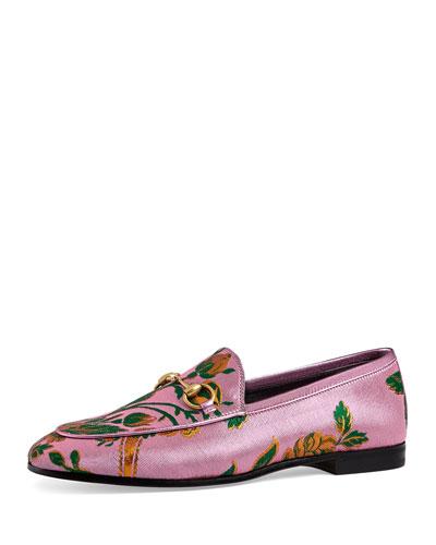 New Jordan Floral Jacquard Loafer, Pink