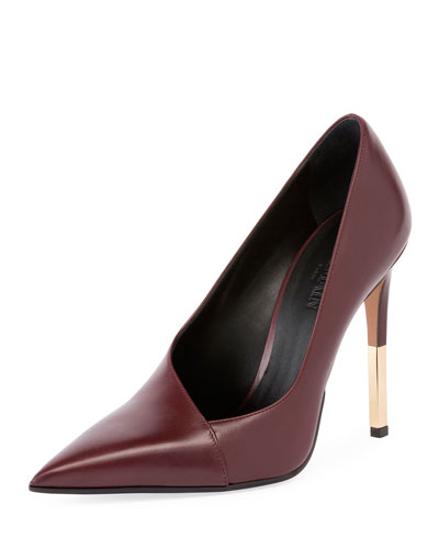 Agnes 100mm Asymmetric Pump, Red