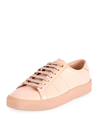 Court Classic low-top leather trainers