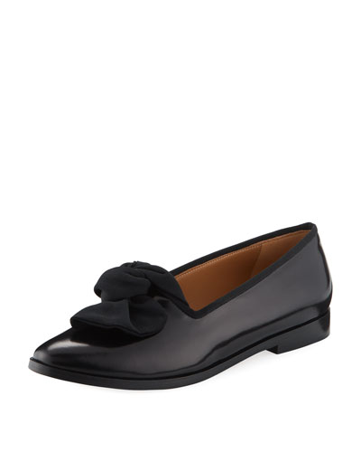 BOW FLAT LOAFER