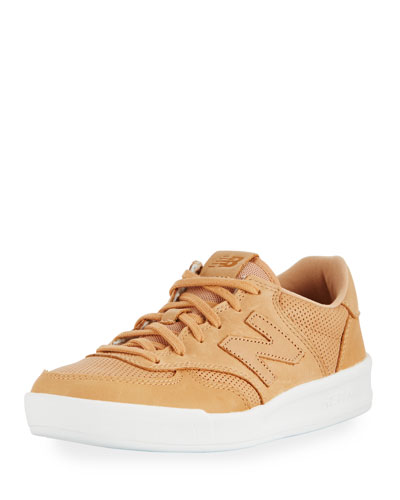 300 Perforated Leather Sneaker