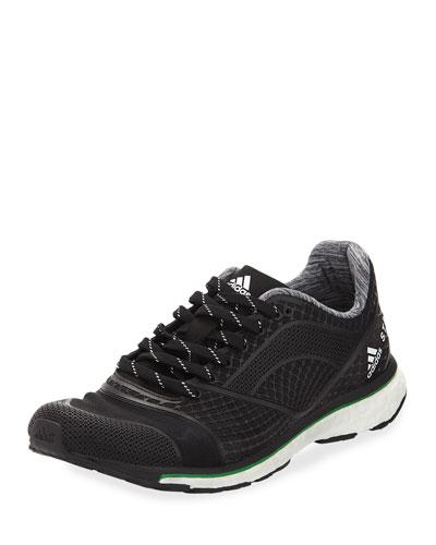 Adizero Adios Knit Sneaker, Black/White