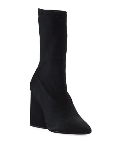 Season 4 Low Canvas Boot, Black