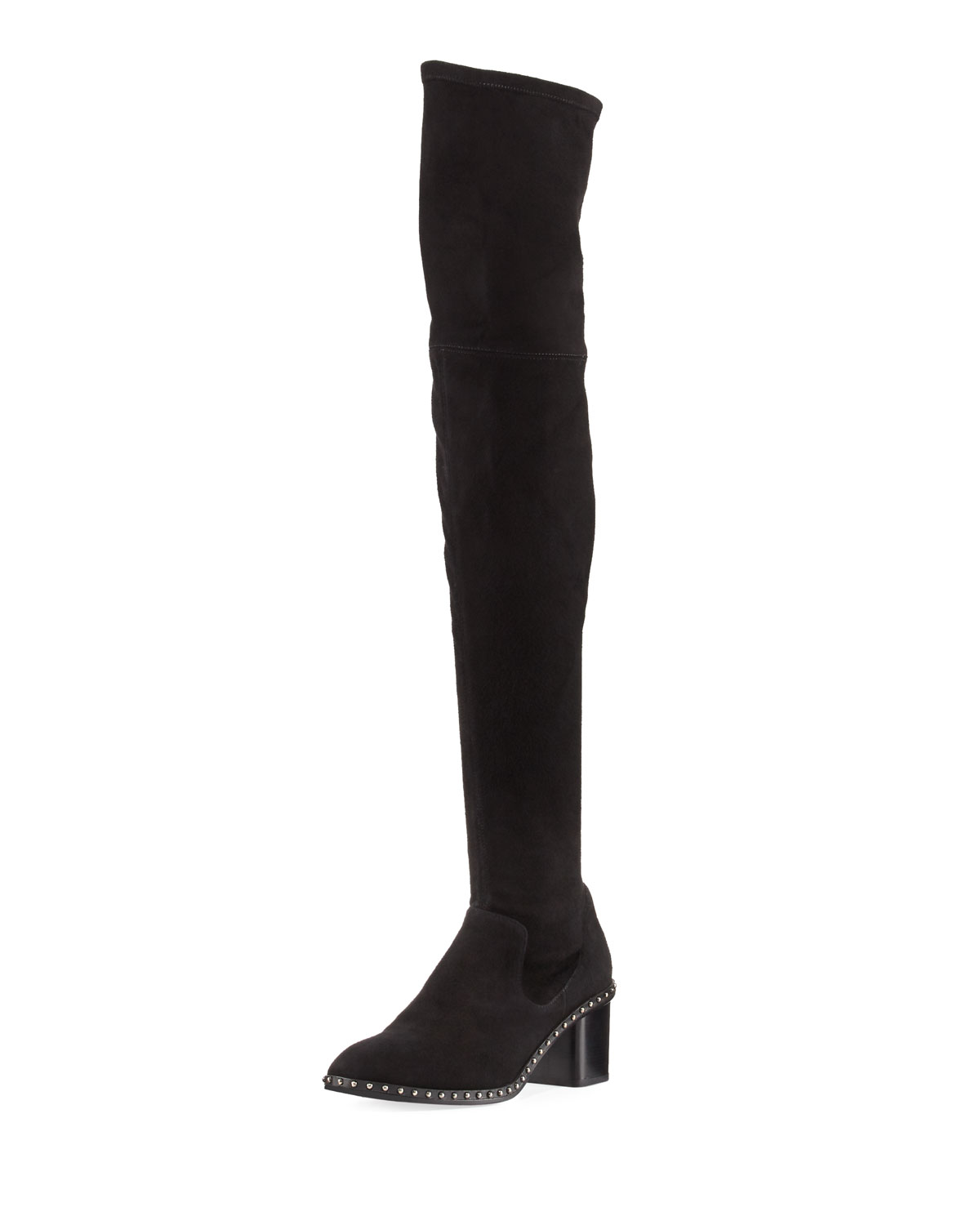 Rina Over-The-Knee Studded Boot