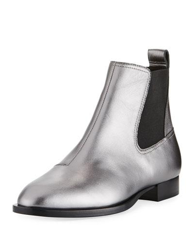 Mason Metallic Flat Boot