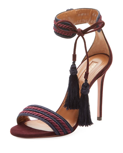 Shanty Ankle-Tie Rope Sandal