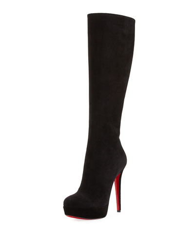 Bianca Botta Suede Red Sole Boot