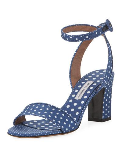 Leticia Polka-Dot Sandal