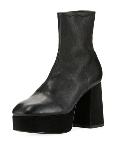 Carmen Leather Platform Boot