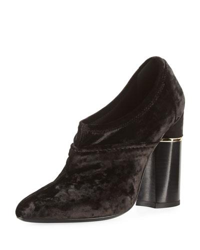 Velvet 105mm Ankle Boot