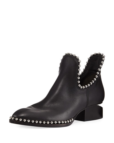 Ball Stud Kori Oxford With Rhodium, Black