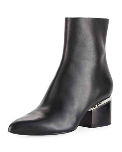 Jude Block-Heel Leather Boot