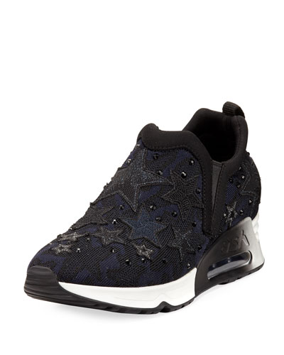 Lifting Star Knit Sneaker