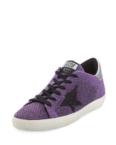 Star Knit Low-Top Sneaker