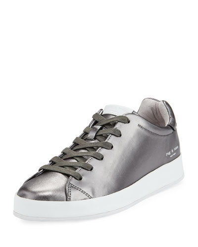 RB1 Napa Low-Top Sneaker with Leather-Wrapped Sole