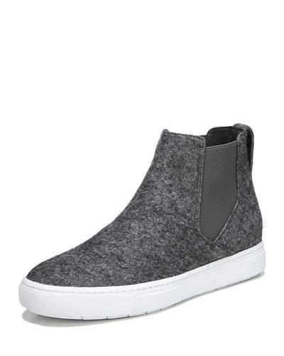 Newlyn Felt High-Top Sneaker