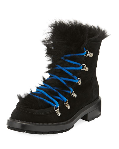 Leni Shearling-Lined Hiker Boot