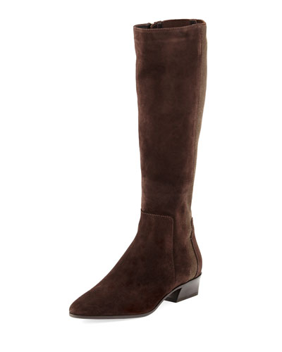 Federica Tall Suede Stretch Boot