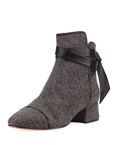 Catherine Felt Ankle Boot