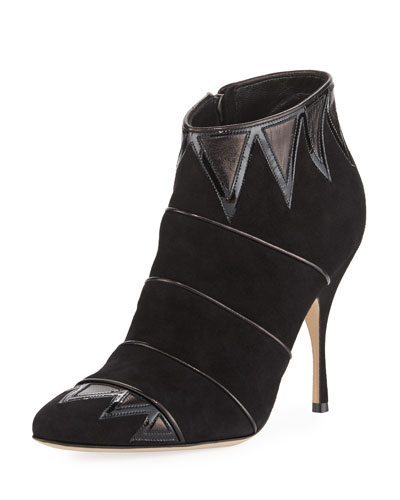 Inuk Seamed Suede 105mm Bootie
