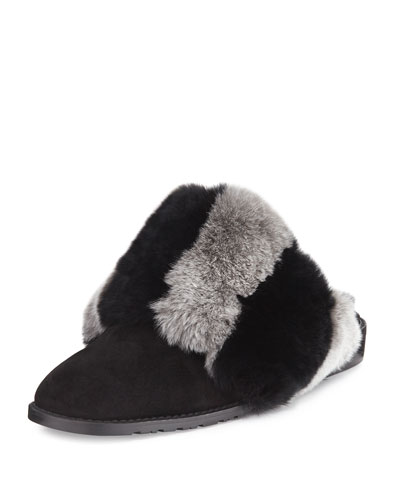 Furgetit Rex Rabbit Slide Mule