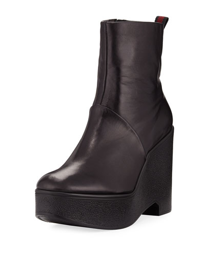 Bisouto Platform Leather Boot