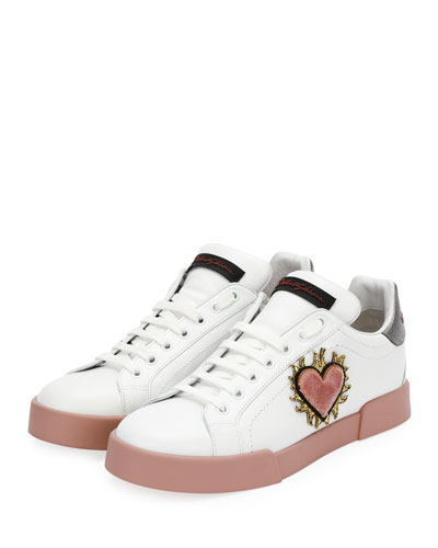 Portofino Love Low-Top Sneaker