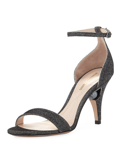 Penelope Metallic d'Orsay Sandal
