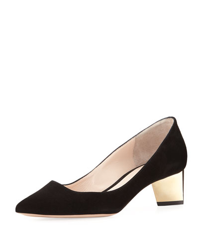 Suede New Prism Pump