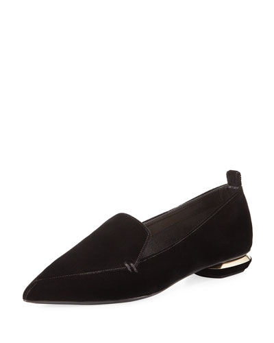 Beya Velvet Loafer