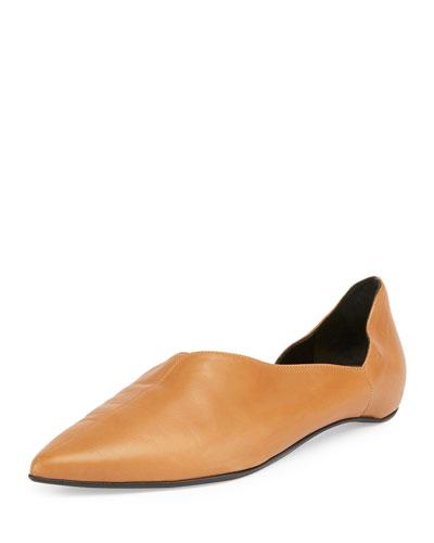 Mirage Half-d'Orsay Ballerina Flat