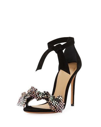 Clarita Crystal-Bow d'Orsay Sandal