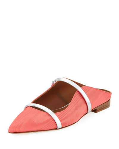 Maureen Moire Mule Slide, Pink
