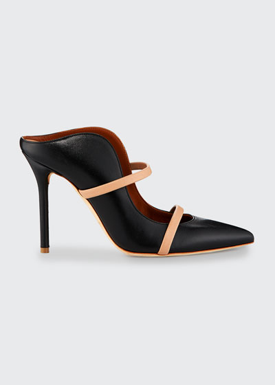 Maureen Point-Toe Mule Pump