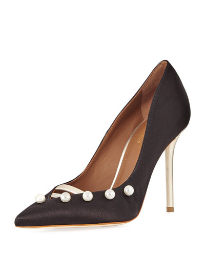 Zia Pearly Satin Pump