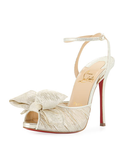 Artydiva Metallic Red Sole Sandal