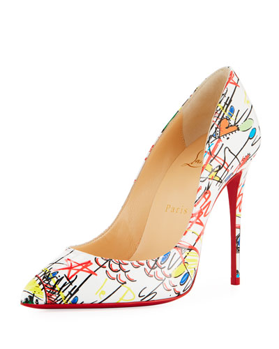 Pigalle Follies Loubitag Red Sole Pump