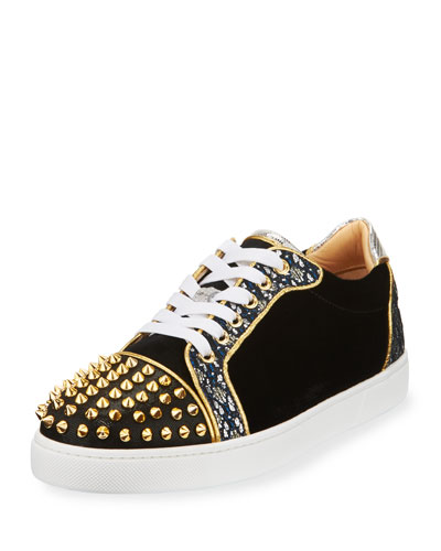 Vieira Spikes Lace-Up Low-Top Sneaker