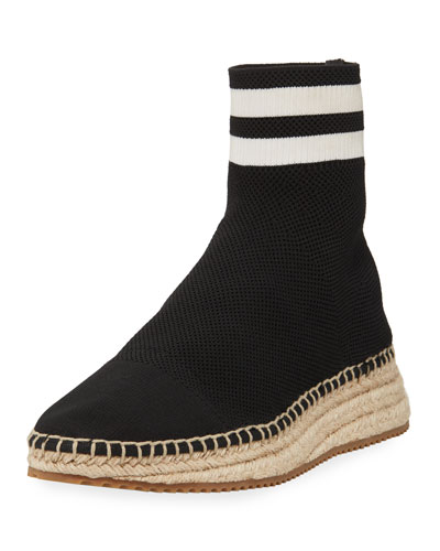 Dylan Knit Sock Espadrille Boot