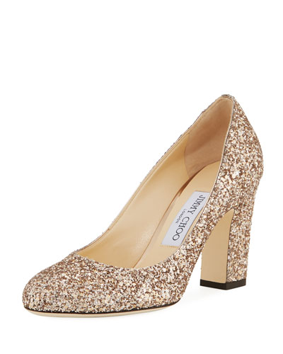 Billie Glittered Pump