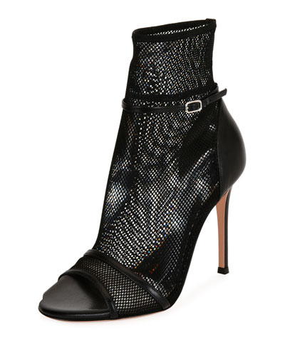 Mesh-Net Open-Toe 105mm Bootie