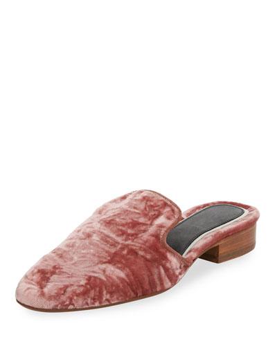 Luis Velvet Mule Slide