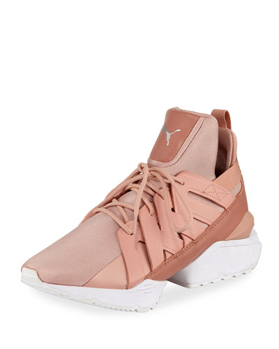 Muse Echo Satin Sneaker